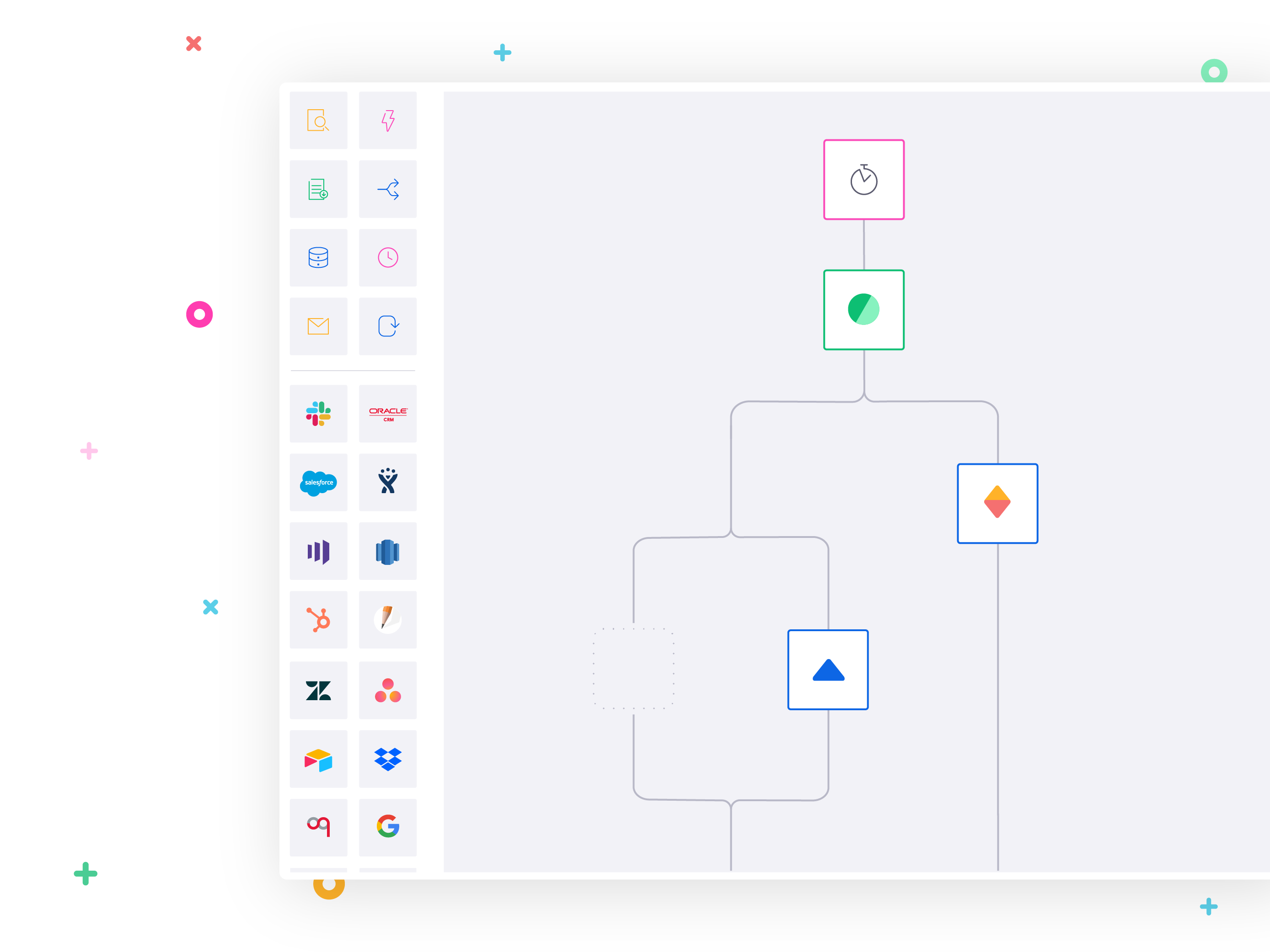 Open source software leader uses Tray.io to integrate Clearbit, Redshift, Salesforce, and Slack.
