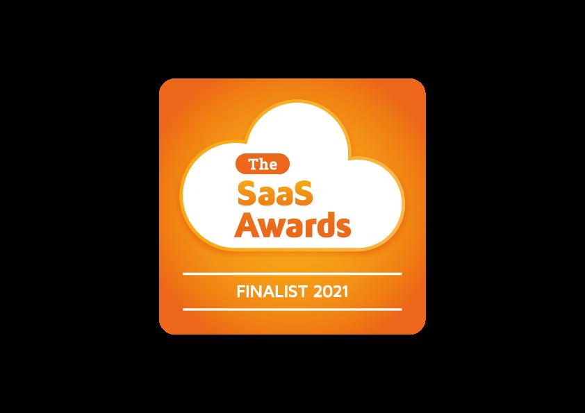 2021 SaaS Awards logo