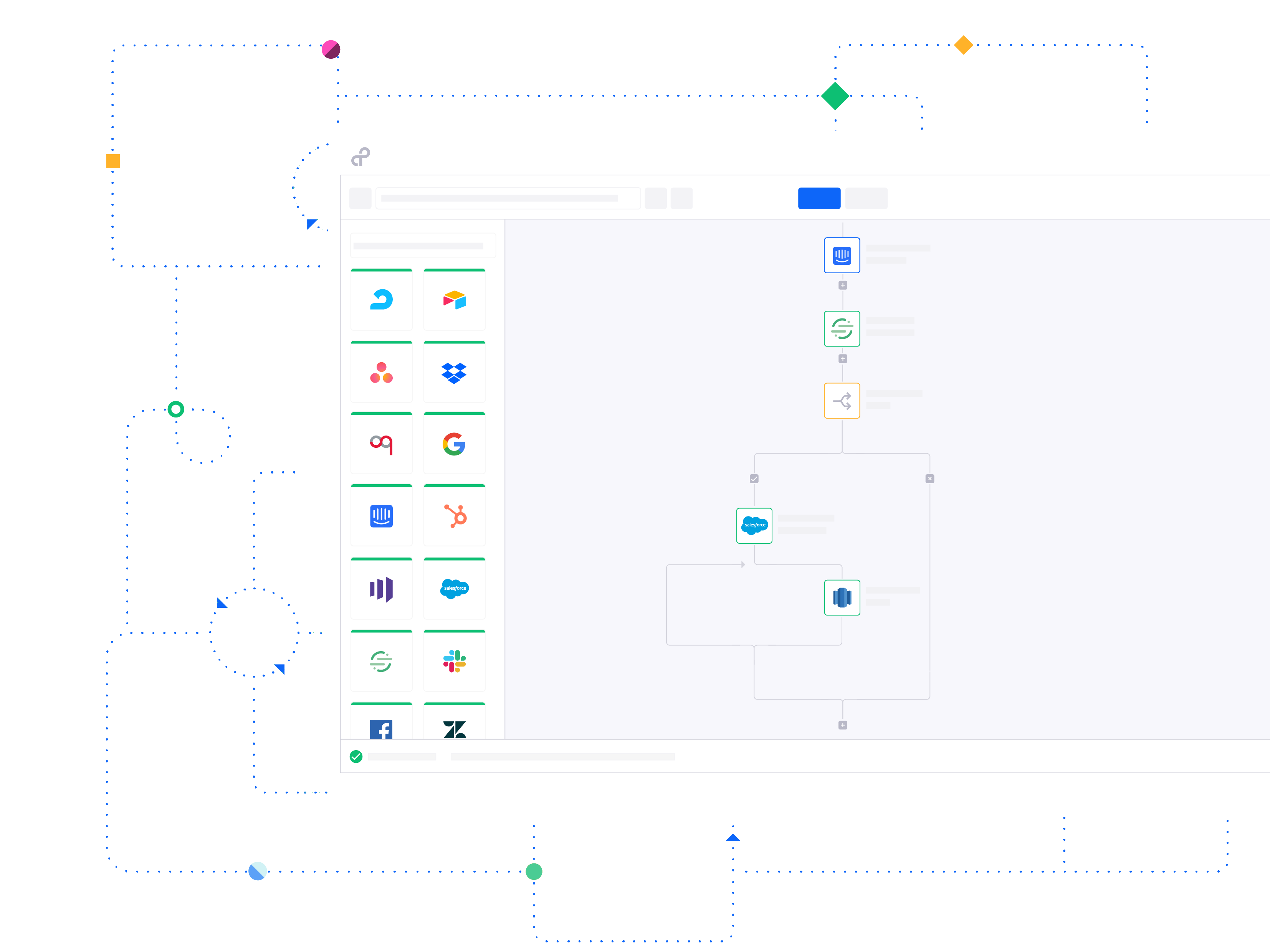 With Tray.io control automation
