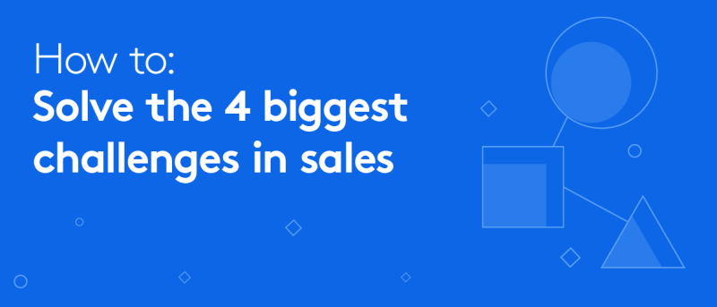 eBook from Tray.io: How to solve the 4 biggest sales challenges