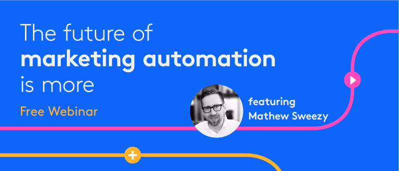 Tray.io free webinar with Matthew Sweezy Future of Marketing Automation
