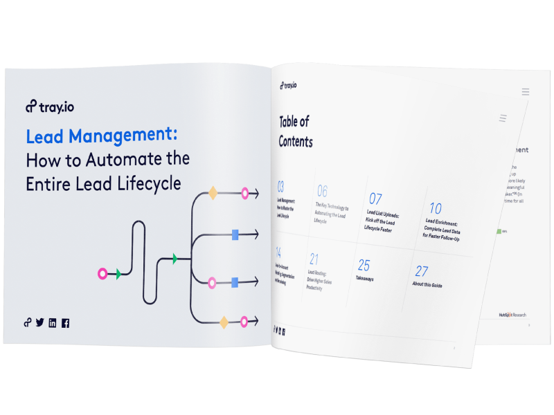 How to automate the lead lifecycle