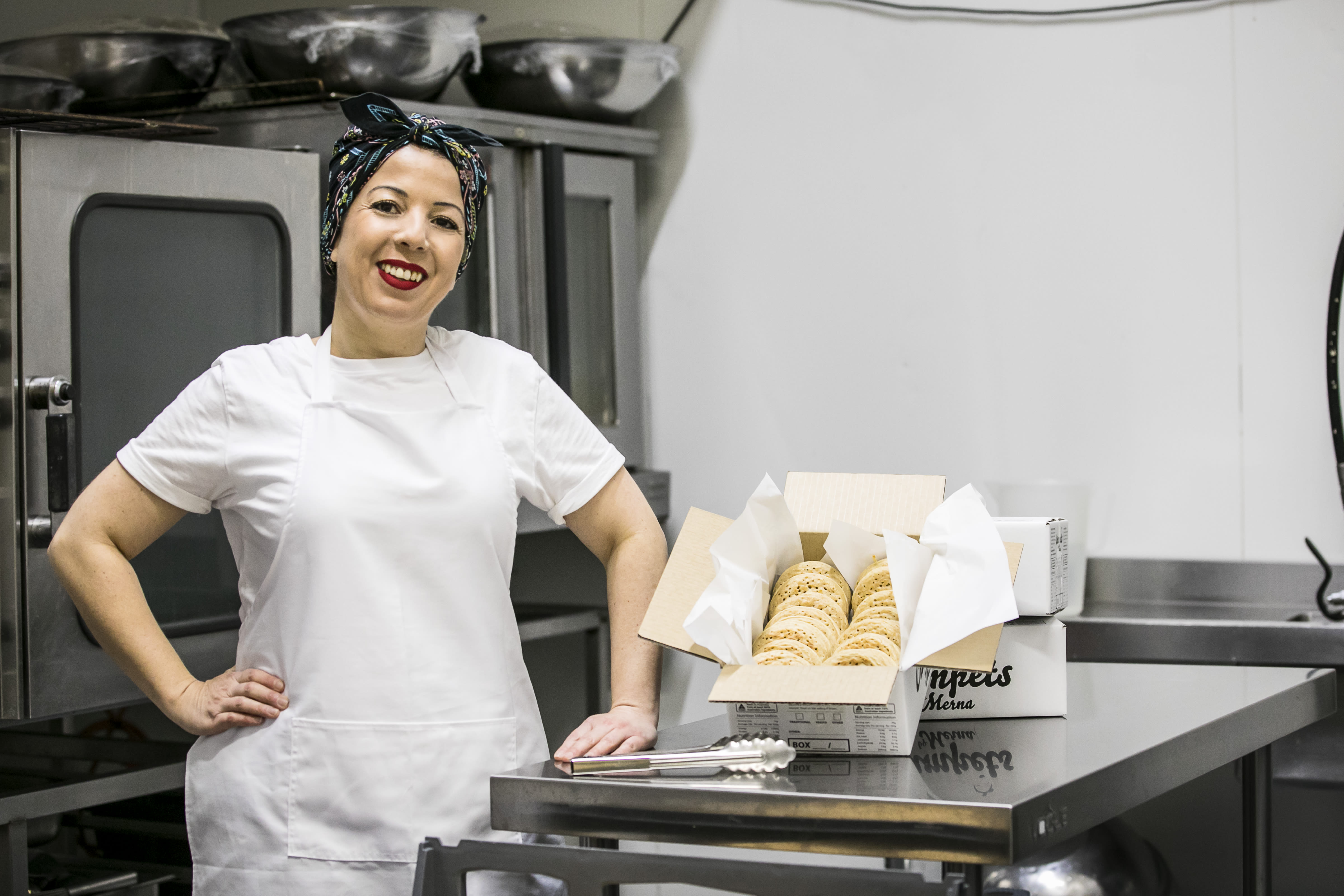 Picture of Merna, Owner of Crumpets by Merna