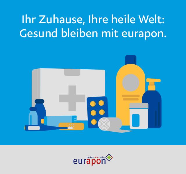 Ihr Zuhause, Ihre heile Welt: Gesund bleiben mit eurapon.