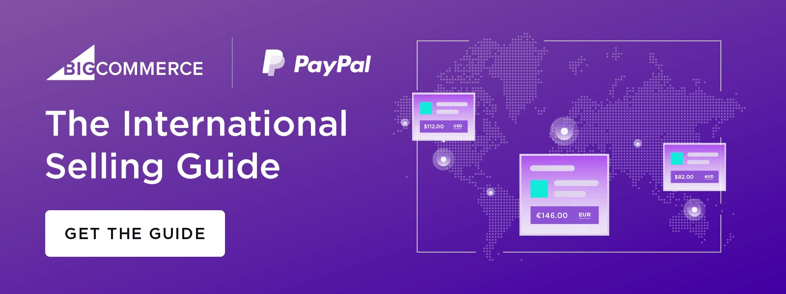 Download The International Selling Guide by PayPal.