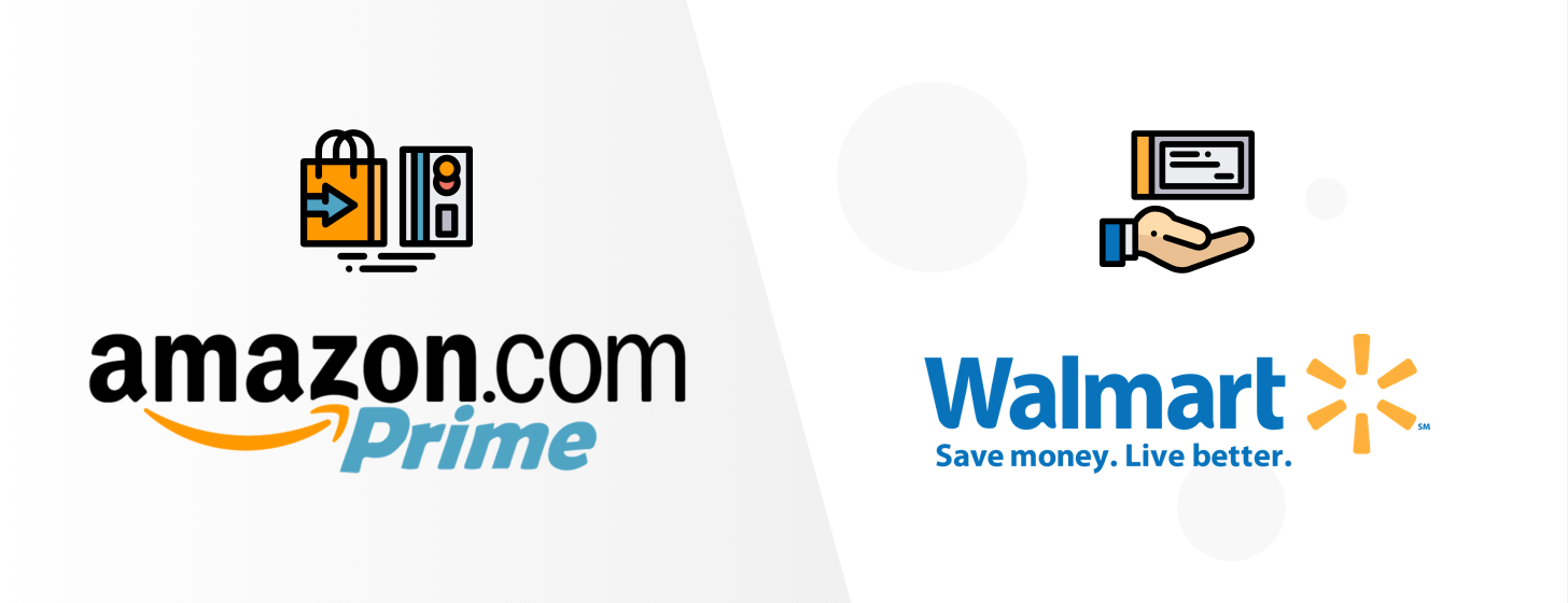 Amazon Prime vs Walmart 2-day