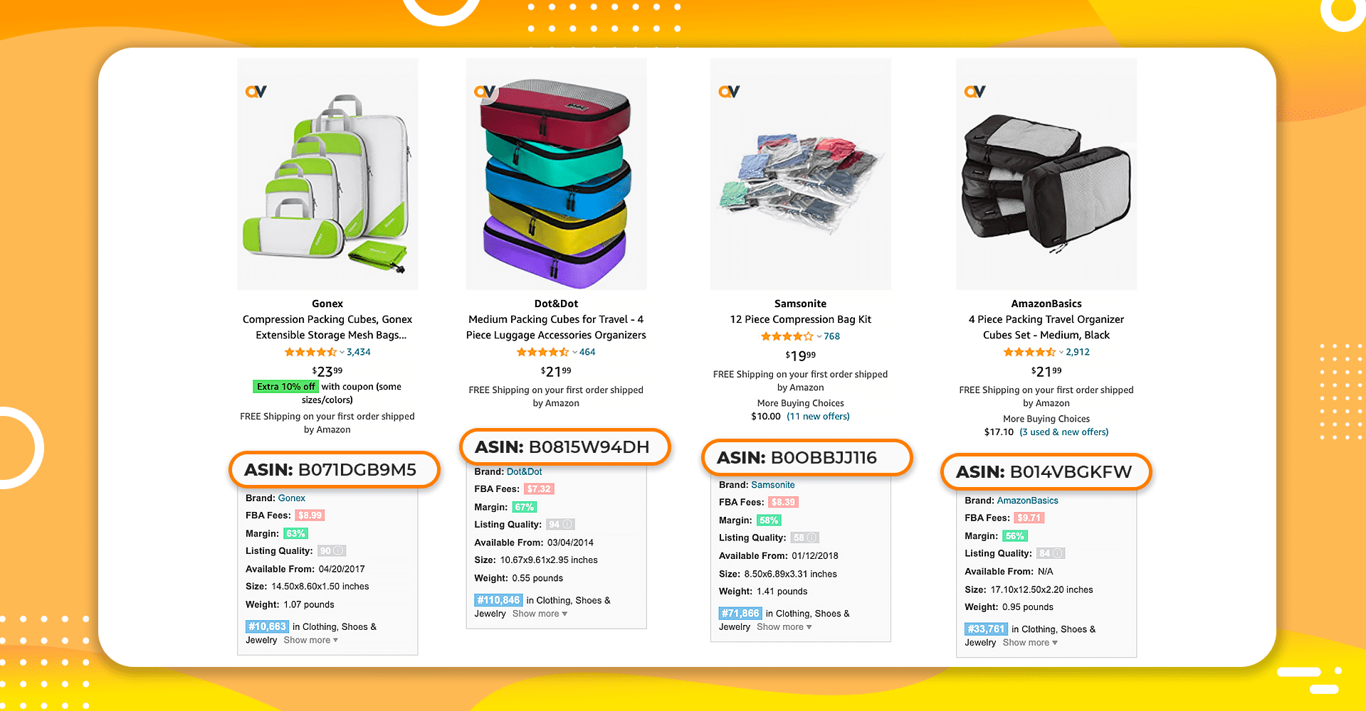 Amazon ASIN Quick View