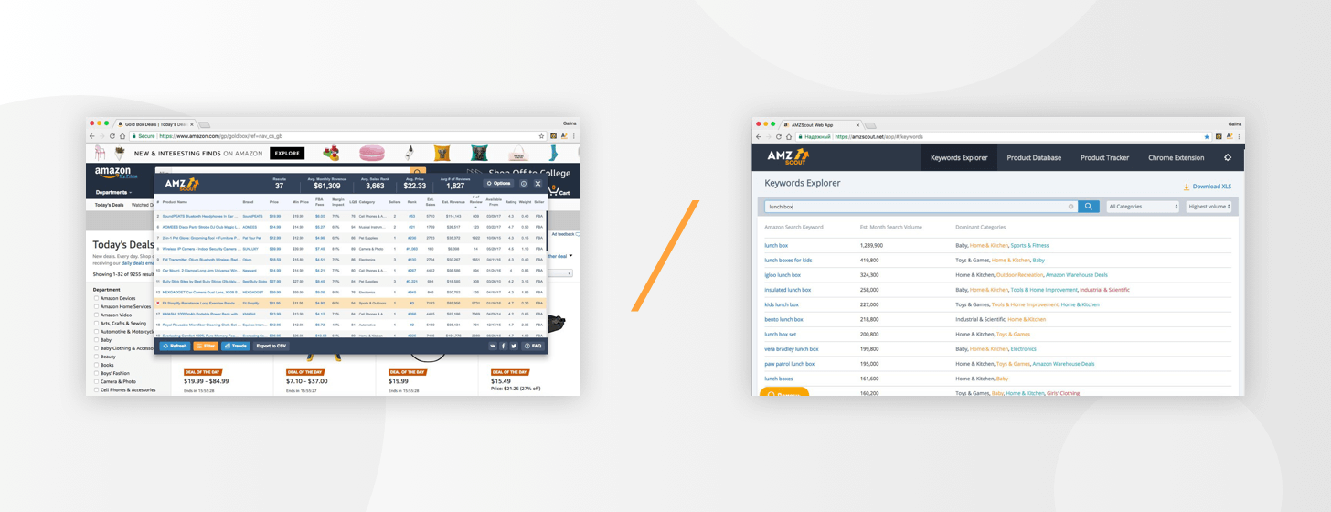 Difference Extension and Web App