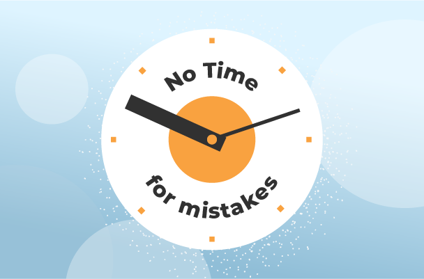 what to sell no time for mistakes
