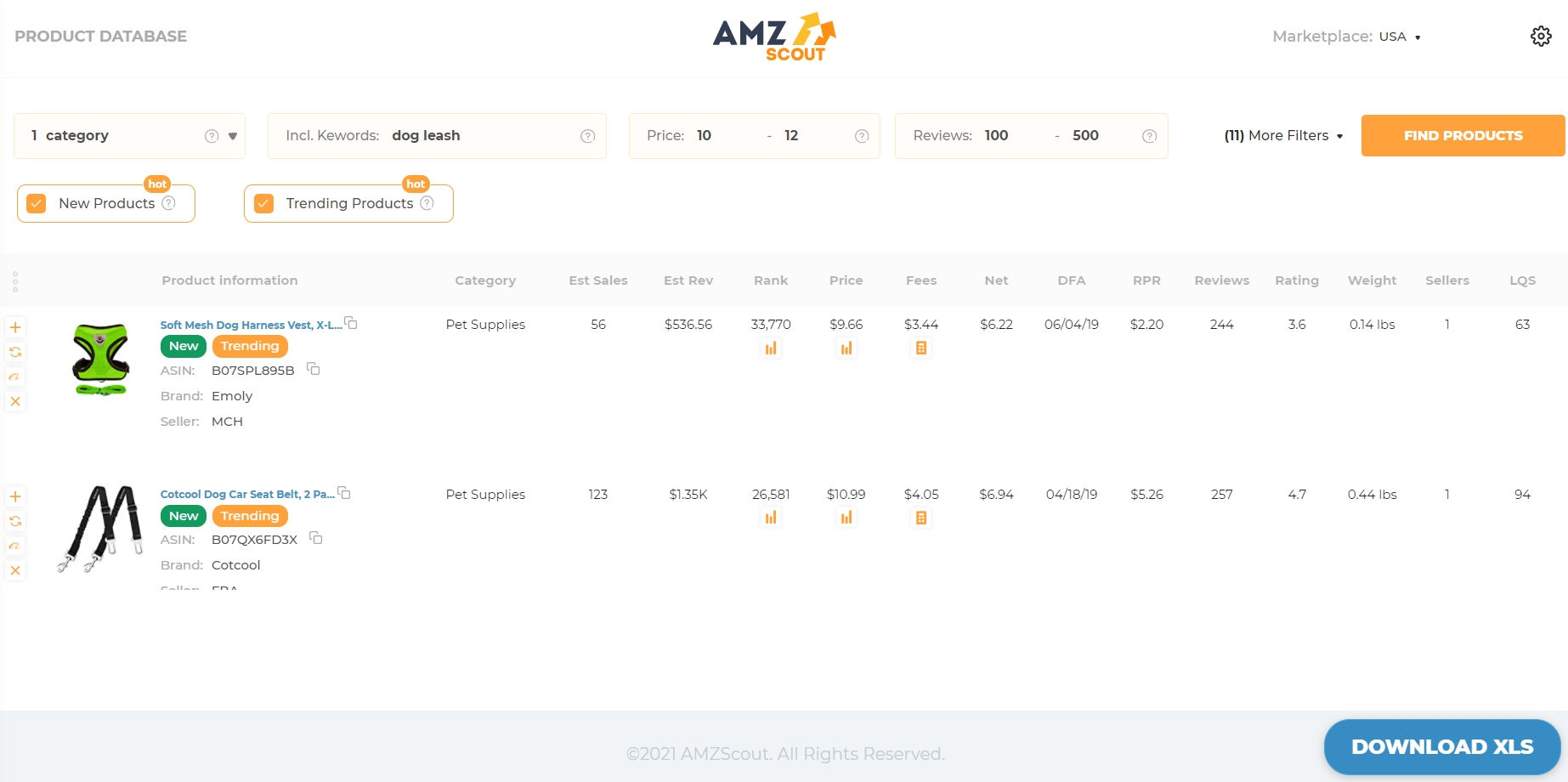Use AMZScout to find products to sell on Amazon