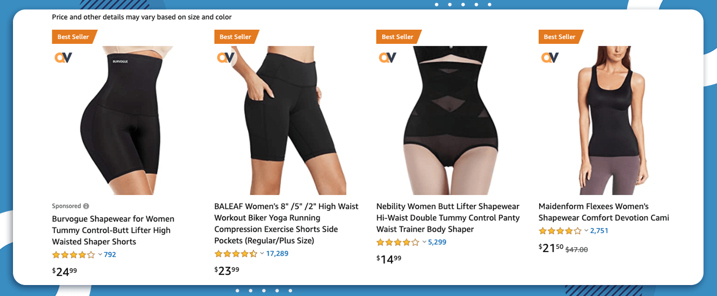 8 Best Products to sell on Amazon shapewear 2