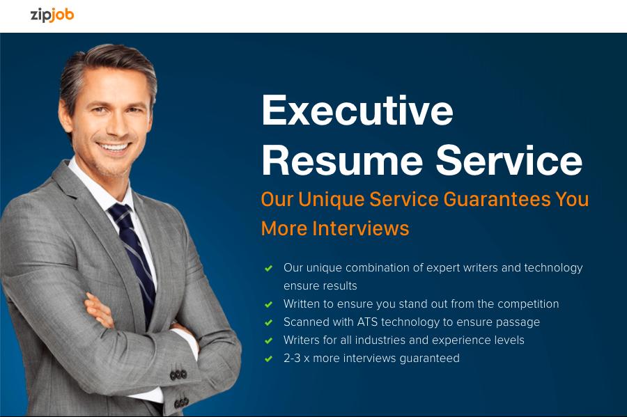 Executive resume writing services near me