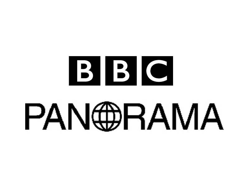 Logo of the BBC Panorama programme