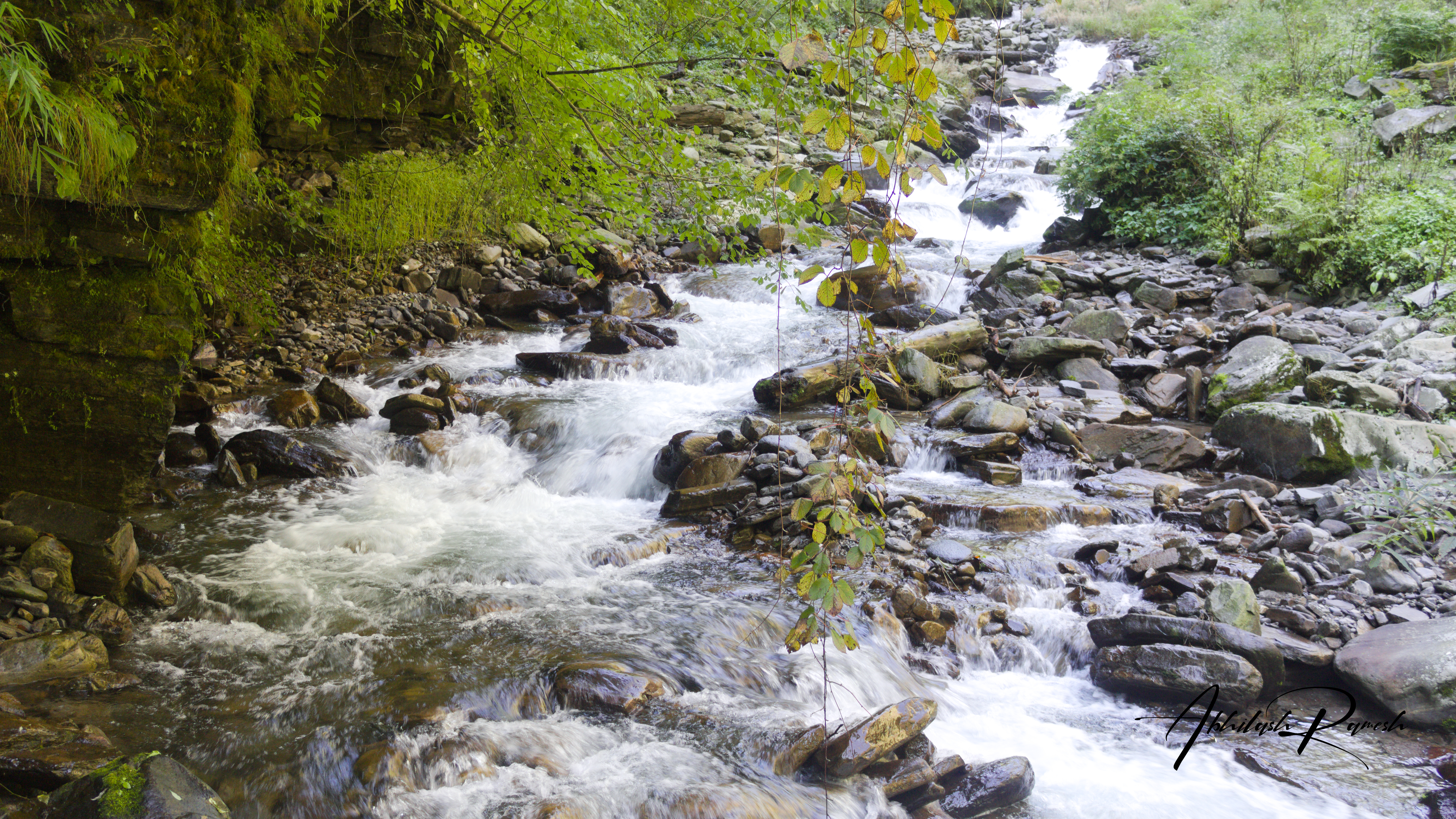 A big river stream