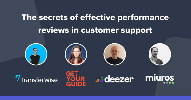 On-Demand Webinar: The secrets of effective performance reviews in customer support