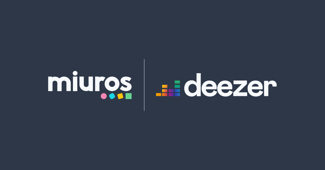Deezer raises the roof on their customer satisfaction with Miuros