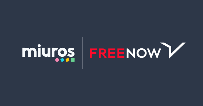 FREE NOW makes complex data accessible to all with Miuros