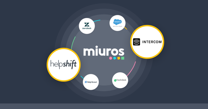 New: Helpshift and Intercom are our 5th and 6th Integrations