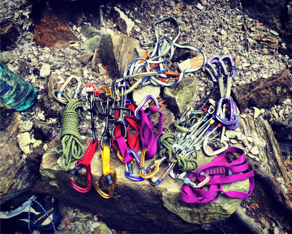Collection Of Climbing Gear