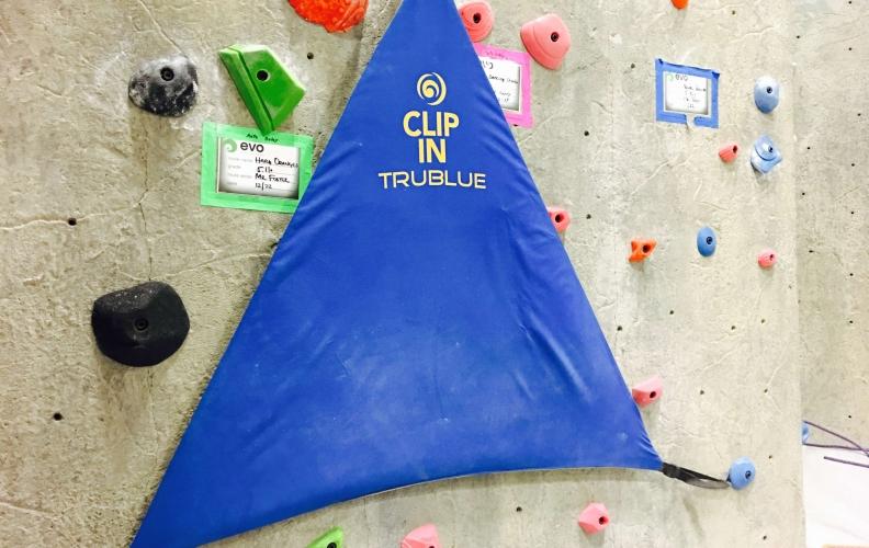 Trublue Clip In Fabric Triangle