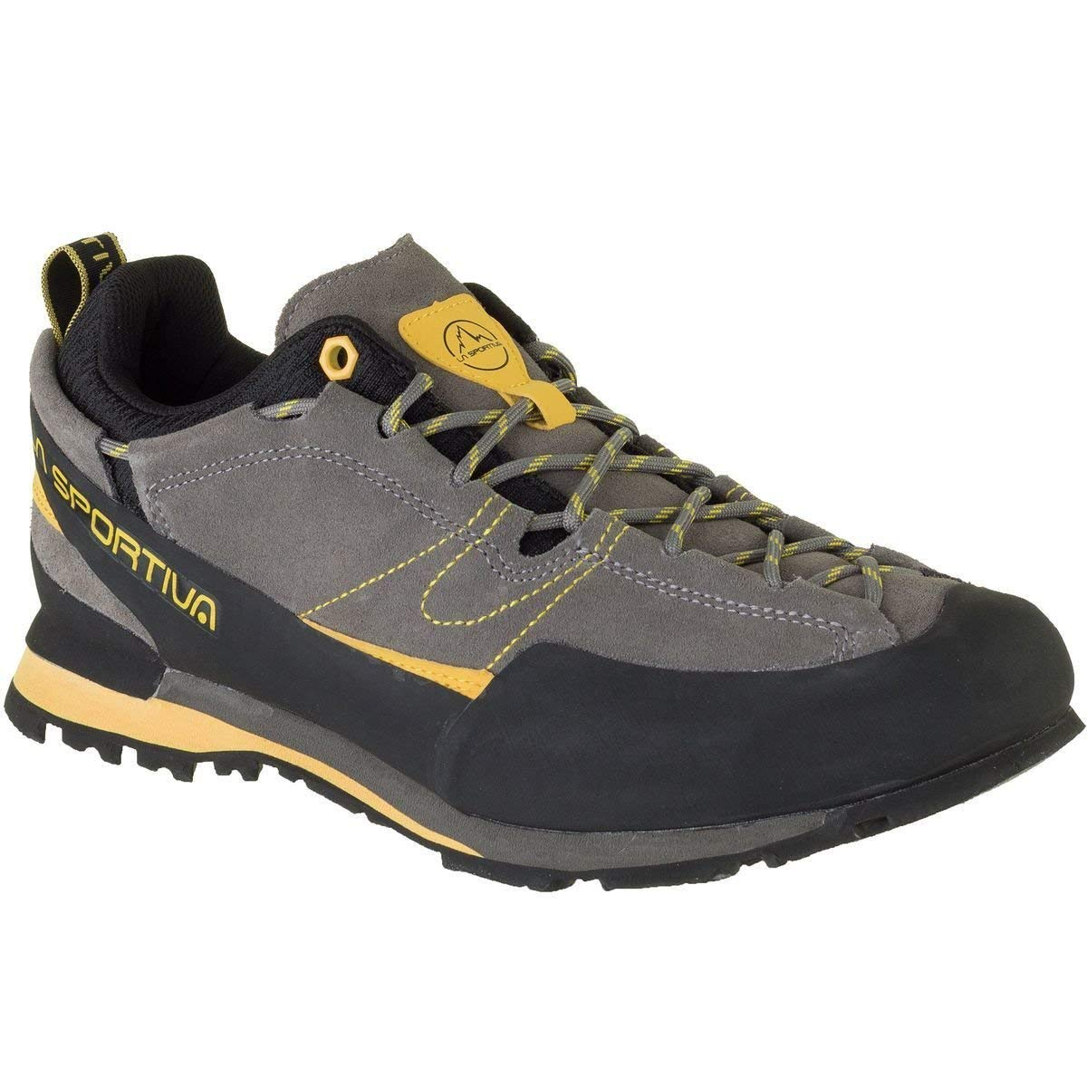 La Sportiva Boulder X Approach Shoes In Grey And Yellow