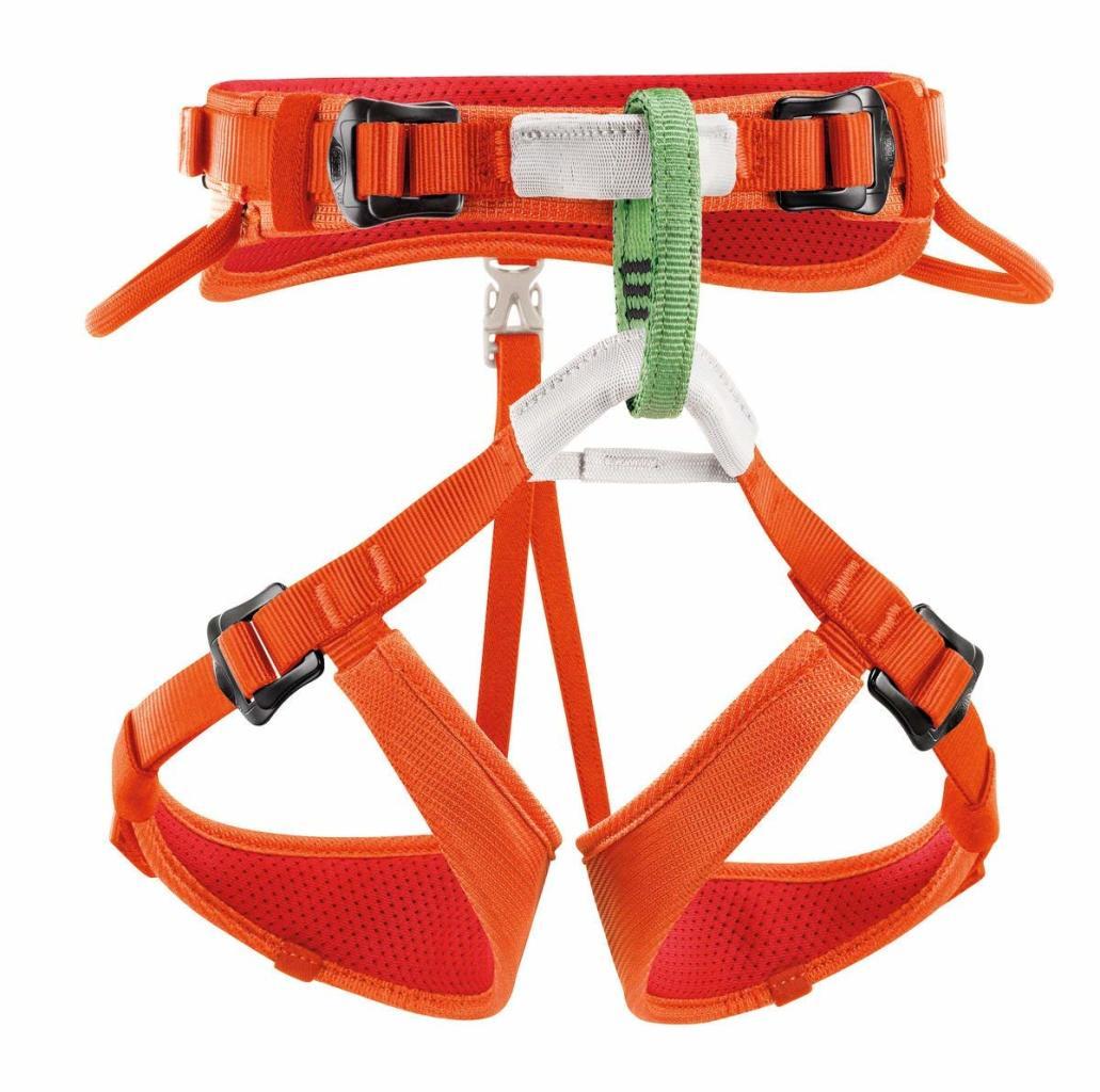 PETZL Macchu Adjustable Seat Harness for Children