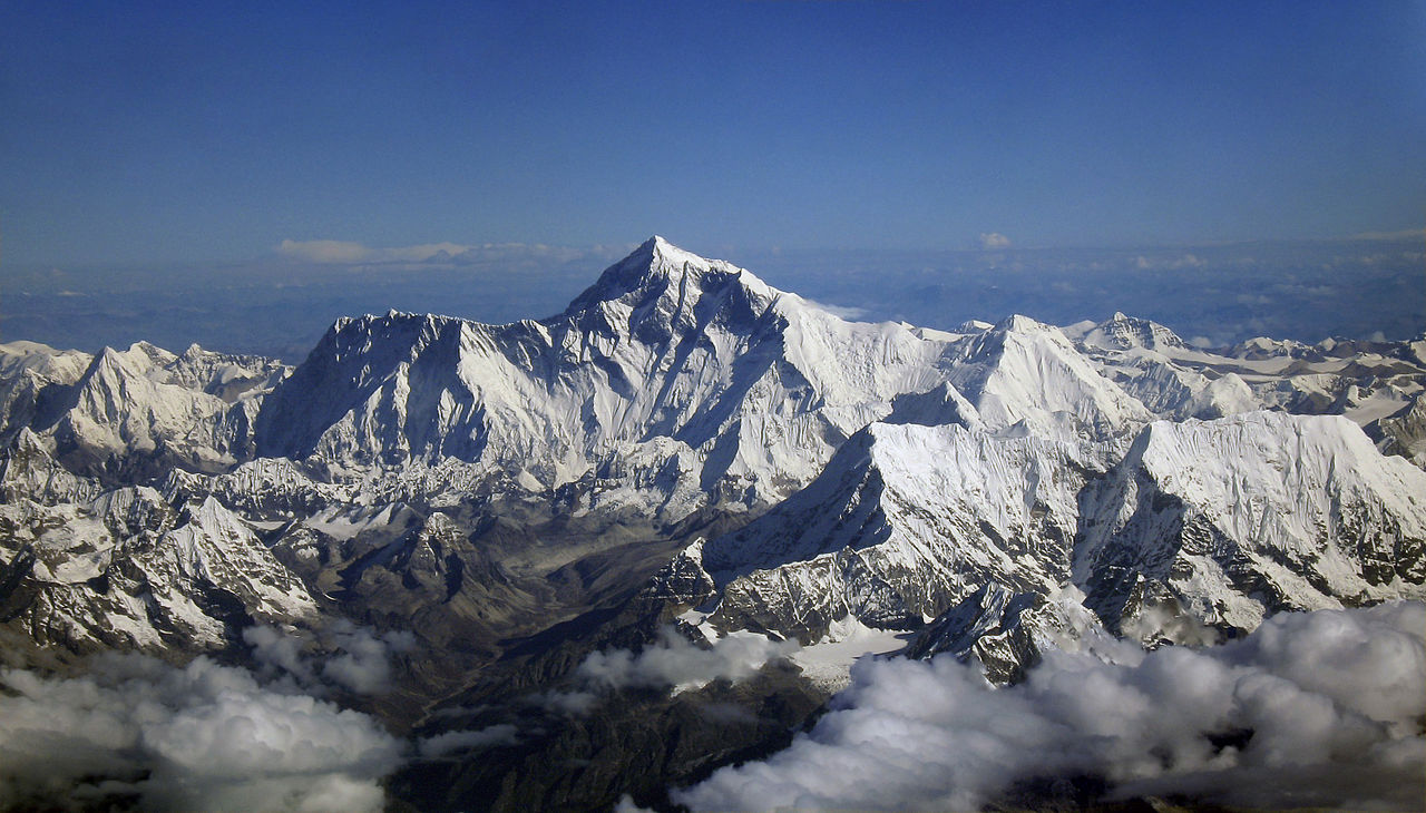 Mount Everest As Seen From Drukair 2