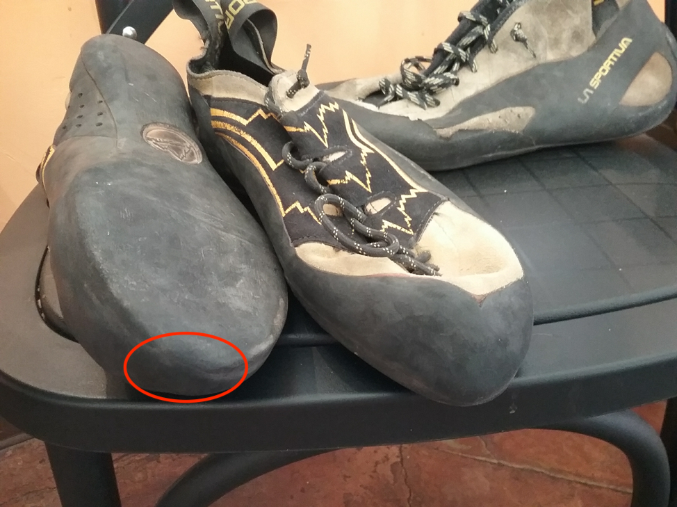 La Sportiva Katana Lace Showing Wear On The Toe
