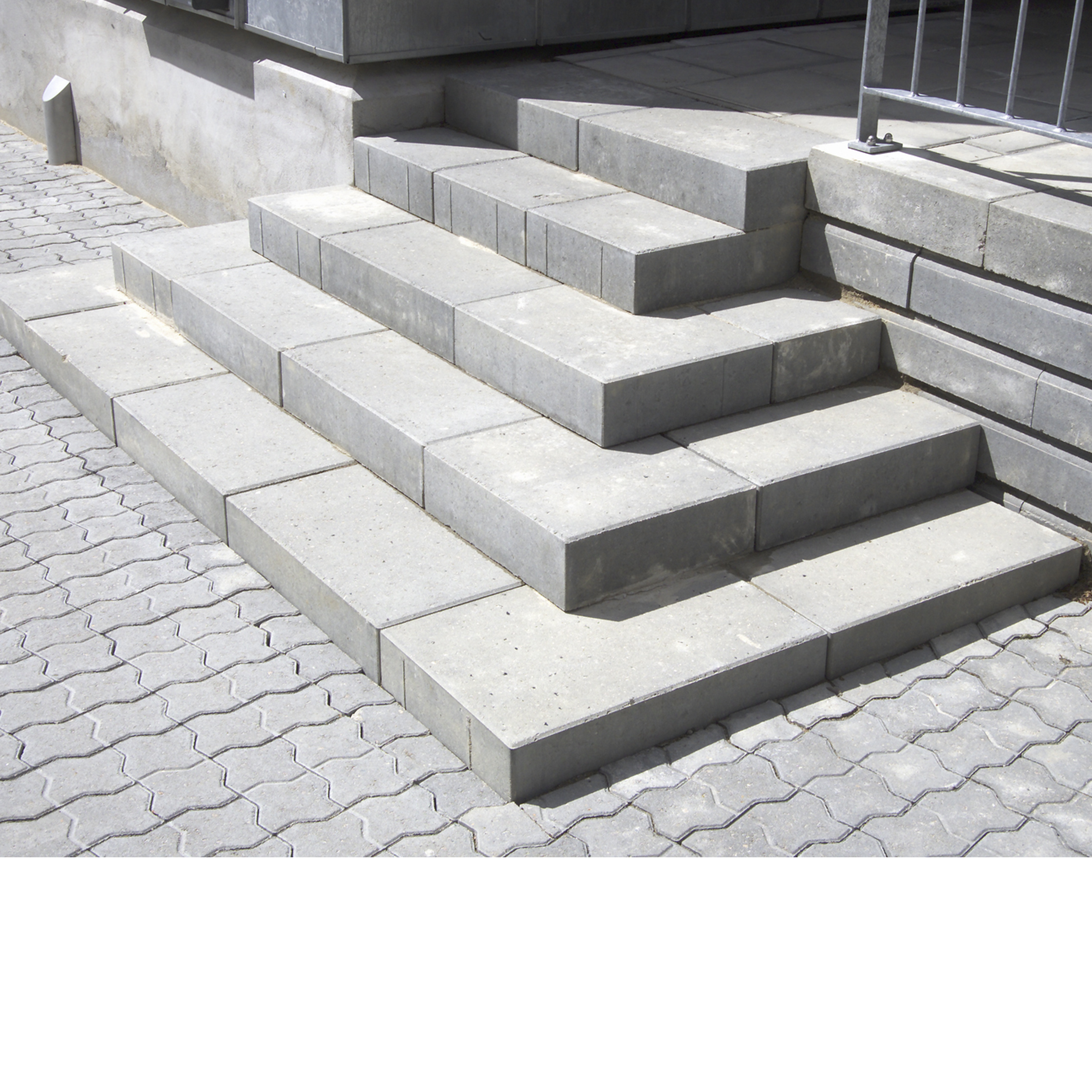 Picture of: Trappetrin Kob Beton Trappetrin Lave Priser Hos Xl Byg