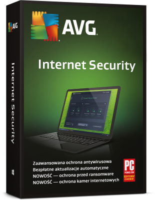 AVG Internet Security packshot