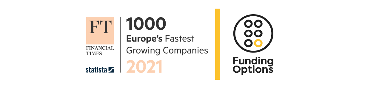 Funding Options op 223e plaats in FT 1000: 'Europe's Fastest Growing Companies 2021'