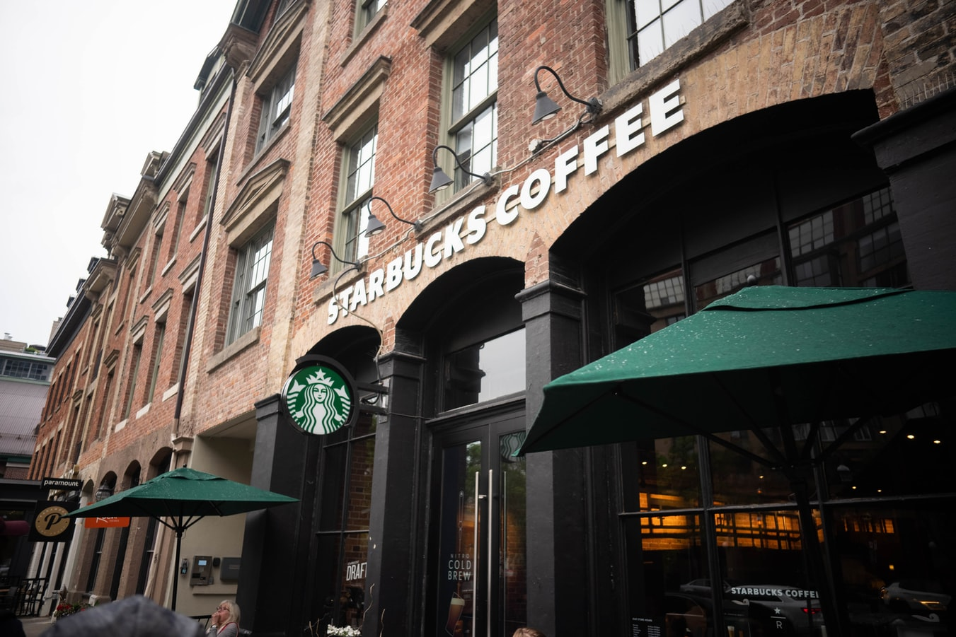 Starbucks coffee shop front