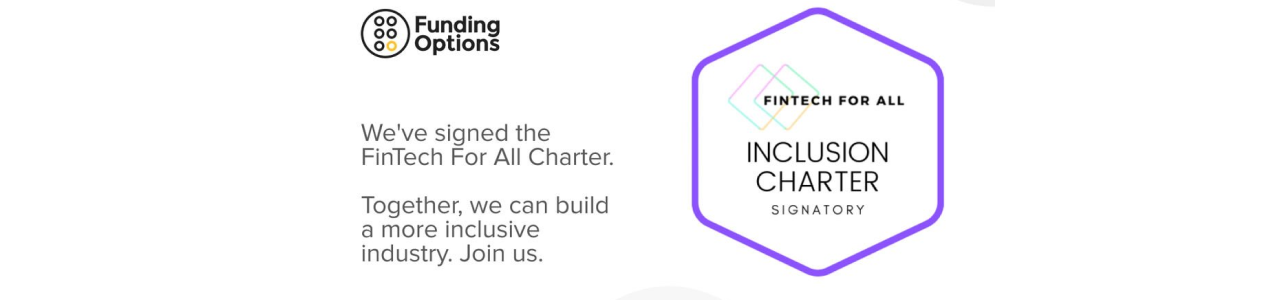 Funding Options signs the 'FinTech for All Charter'