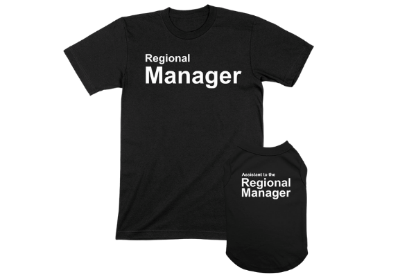 regional manager dog tees