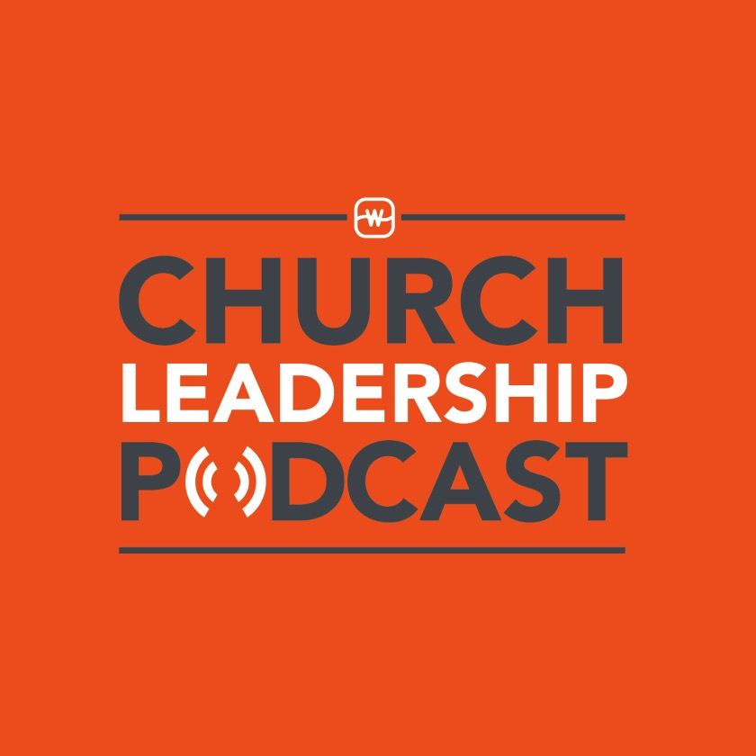 Church leadership podcast image