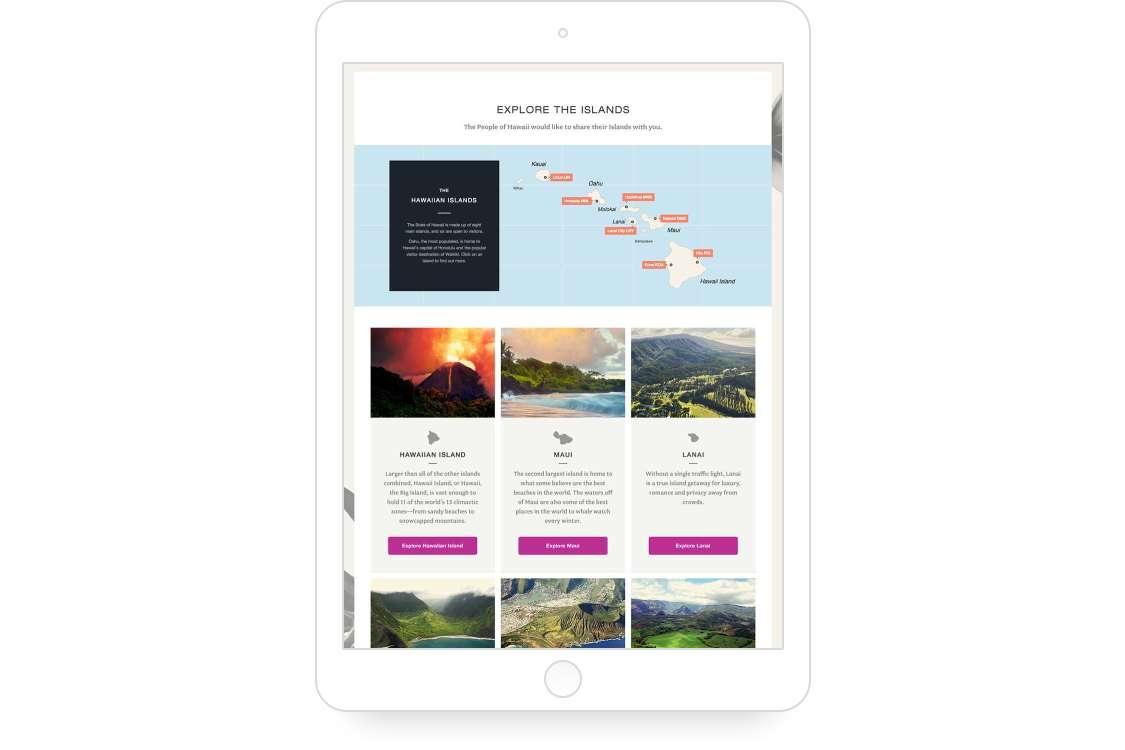 Island App Screen 02