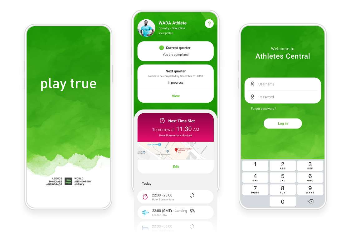 WADA's mobile app first steps