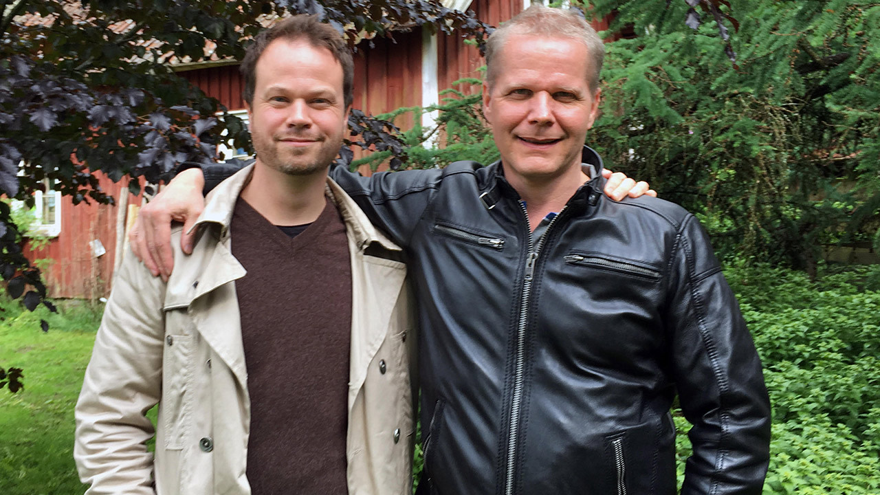 Anton Berg and Kaj Linna, Photo Courtesy of Anton Berg