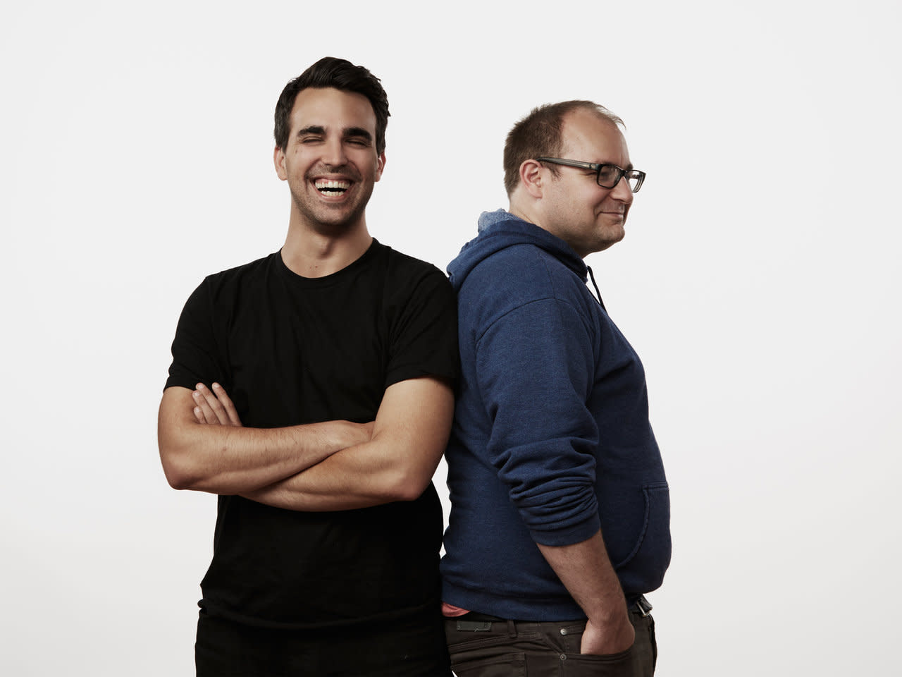 PJ Vogt and Alex Goldman of Reply All, Photo Courtesy of Spotify /  Daniel Seung Lee