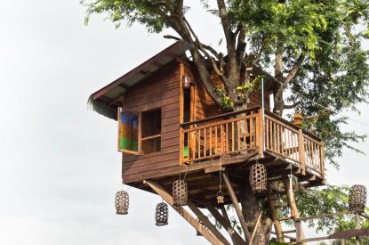 Boho treehouse