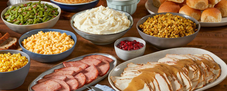 Bob Evans Christmas Dinner 2021 Bob Evans Farmhouse Feast Complete Easter Dinner To Go
