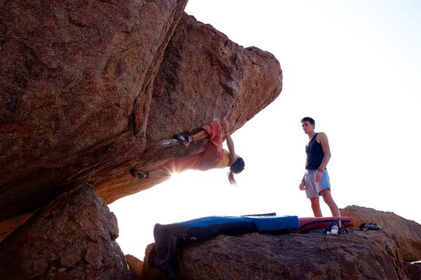 Career Bouldering (success today means leaving the path behind)