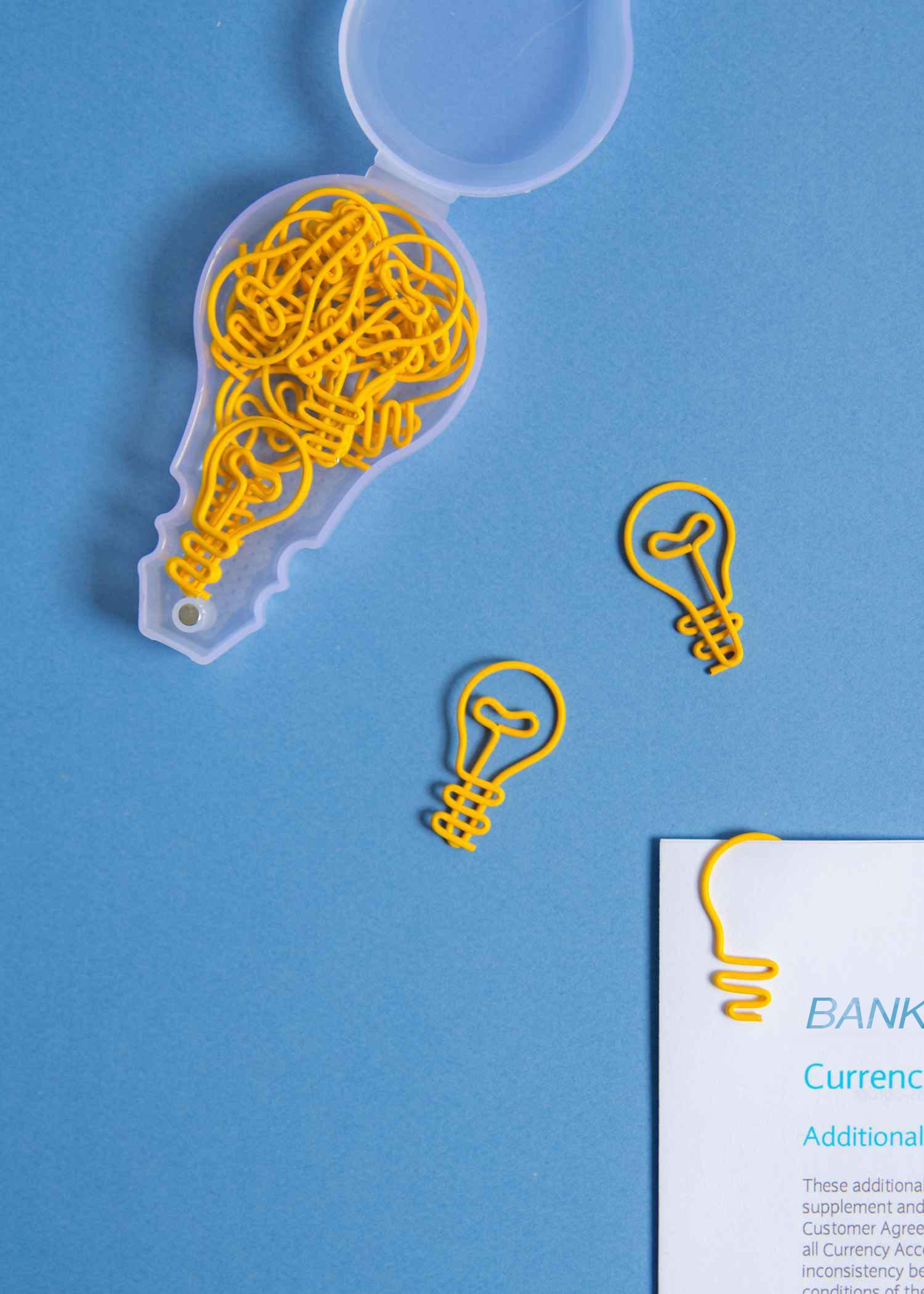 Letterbox paper clips for a smart office