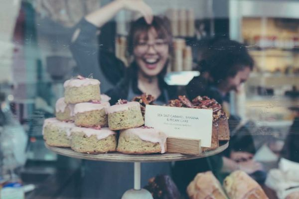 Sometimes buying an existing business - like this thriving cake shop - is a better idea than starting from scratch.
