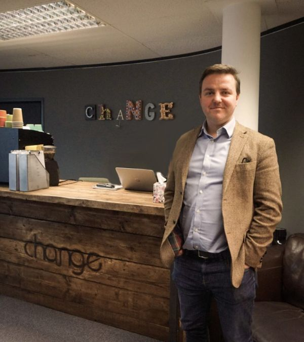 Blog Image | Jim O'Brien Co-Founder of the Change Group - a niche recruitment consultancy | Headline 1