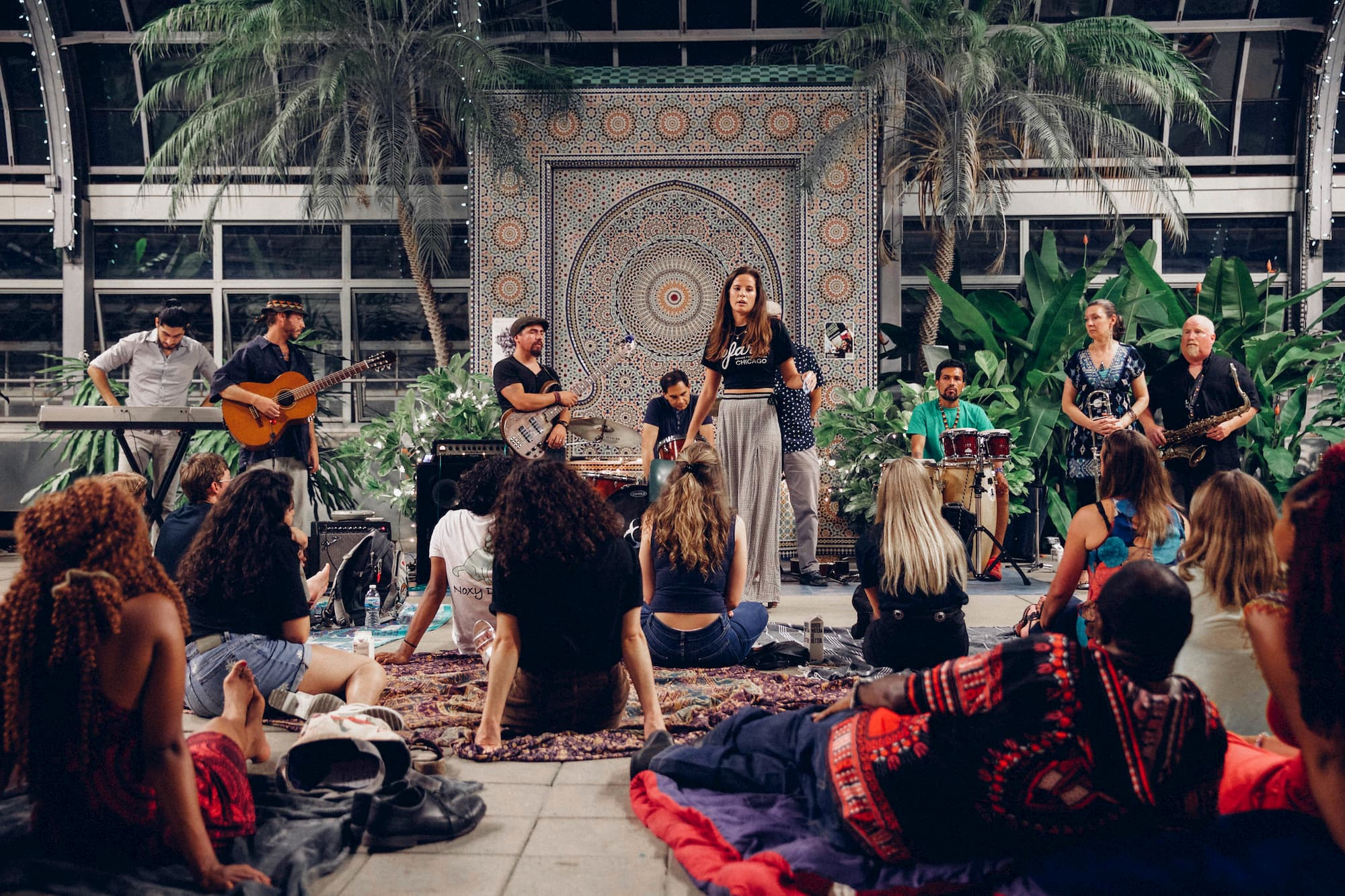 Garfield Conservatory play Sofar Chicago | iwoca