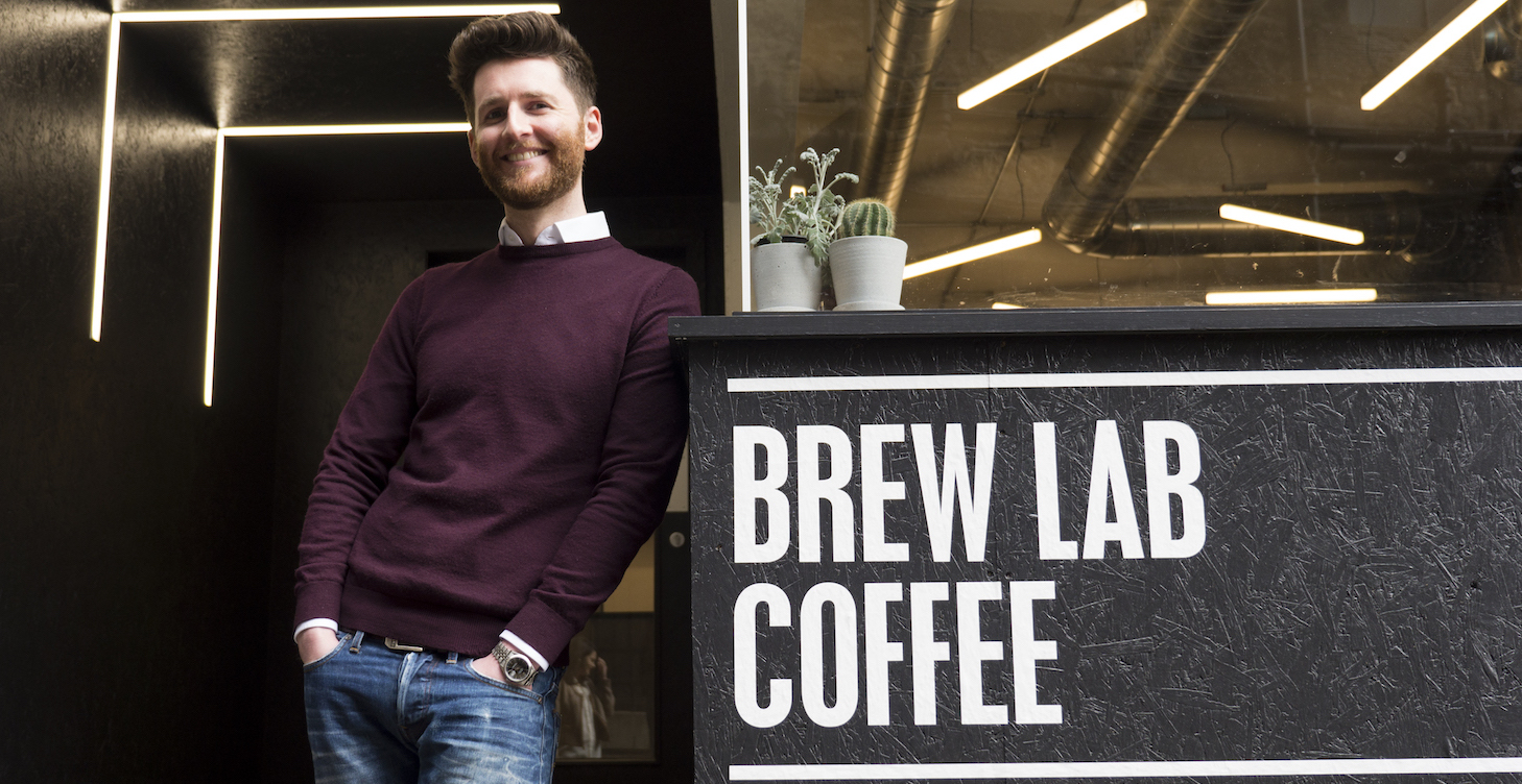 Blog image | Tom Hyde, Founder of Brew Lab Coffee | Header image 1
