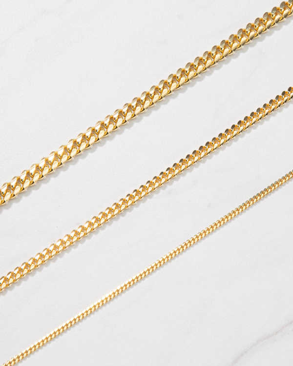 No Compromises - Cuban Chain Gold Bonded