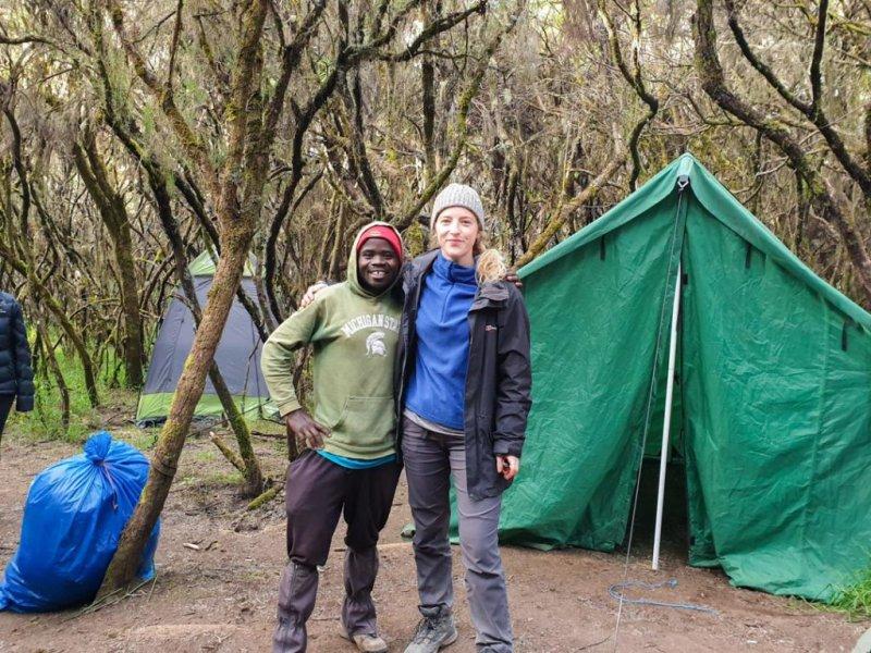 Kilimanjaro camp photo