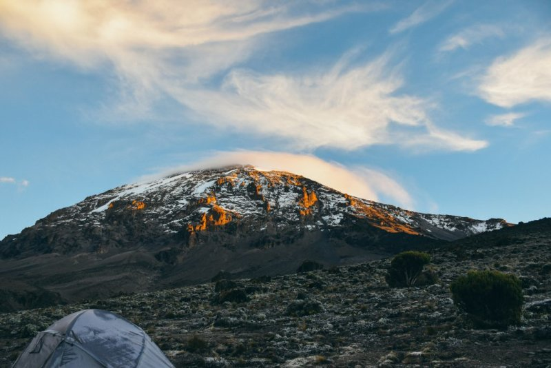 sunrise Kilimanjaro